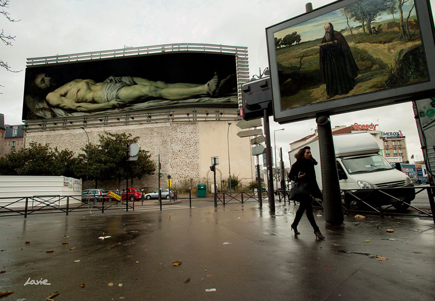 'Billboards' in Paris