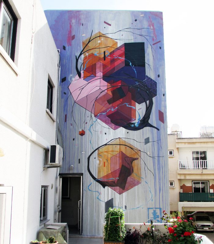 Etnik - Ayia Napa Street Art Festival 2016 - Cyprus