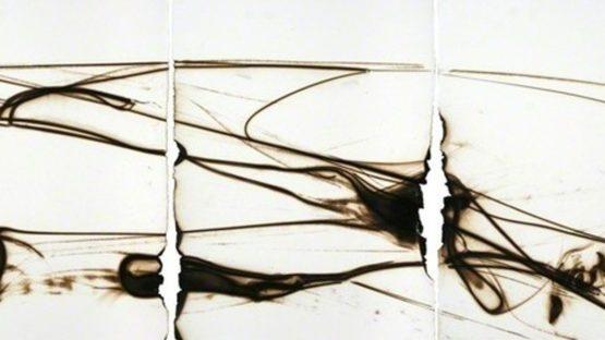 Etsuko Ichikawa - Trace 3711 (detail), 2011-2013, Glaspyrograph on paper