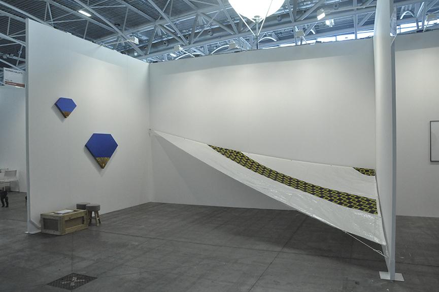 Ettore Favini's Artworks at Giorgio Galotti Booth at Artissima 2