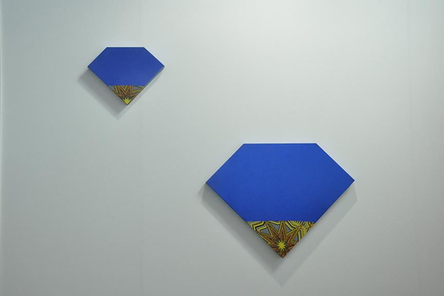 Ettore Favini's Artworks at Giorgio Galotti Booth at Artissima 3