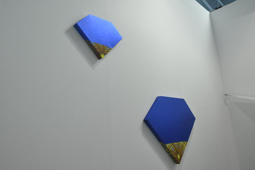 Ettore Favini's Artworks at Giorgio Galotti Booth at Artissima 5