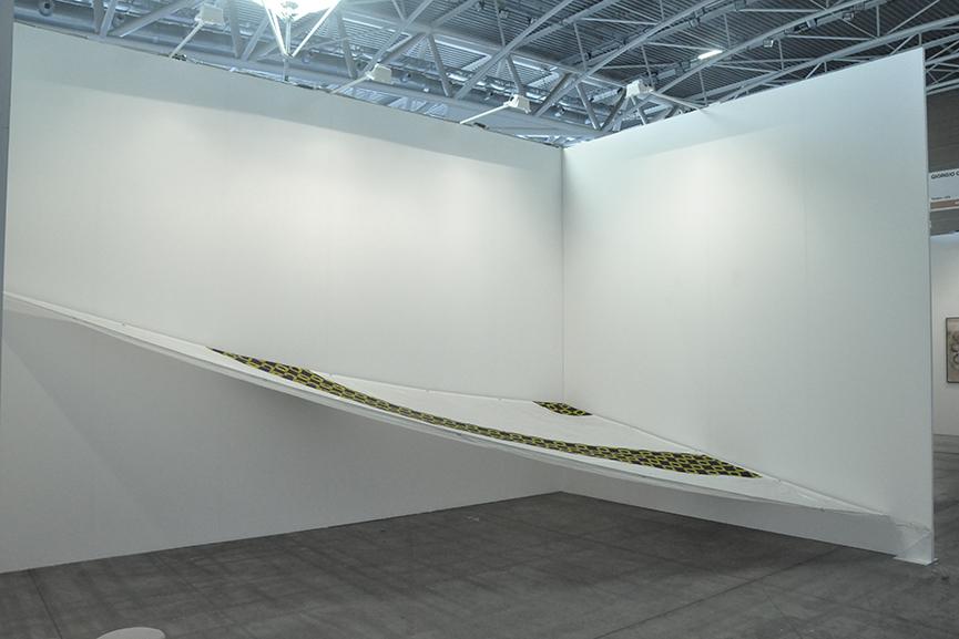 Ettore Favini's Artworks at Giorgio Galotti Booth at Artissima 6
