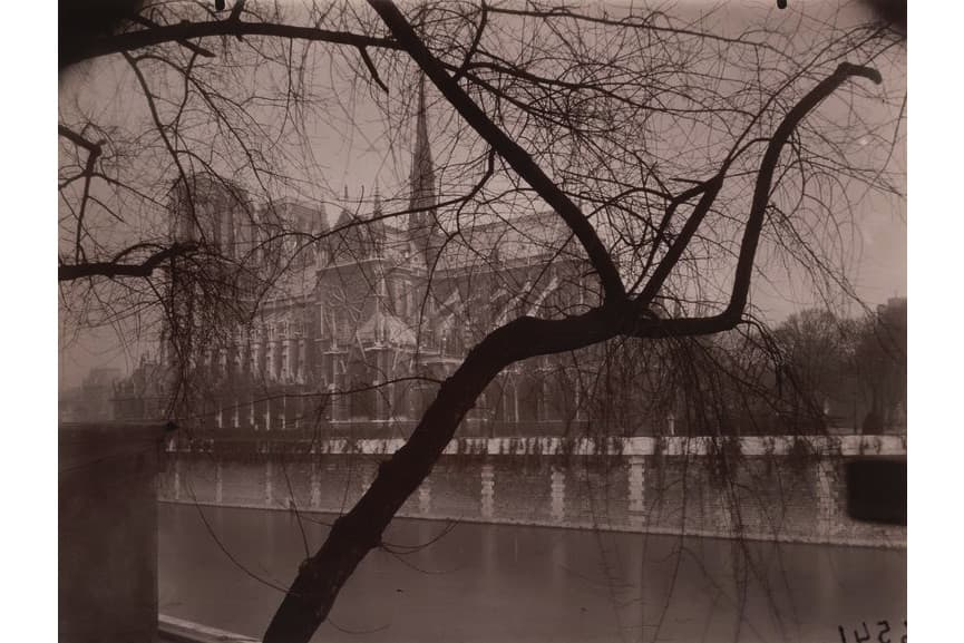 Eugène Atget - Notre-Dame, March 1925