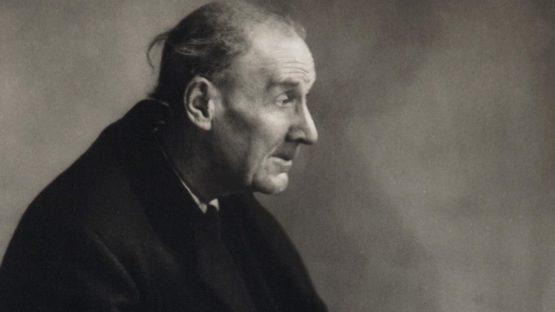 Eugene Atget - Portrait (detail) by Berenice Abbott - 1927