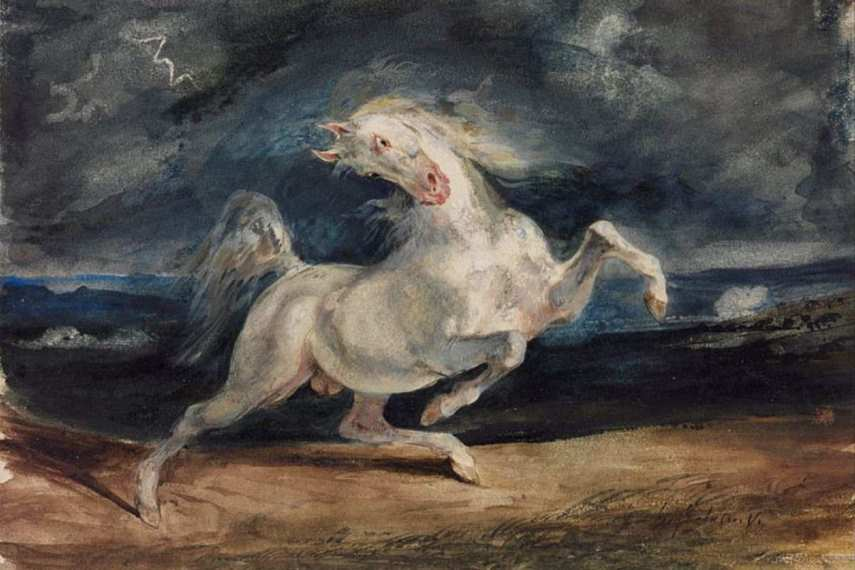 Horse paintings prints are beautiful elements of home decor