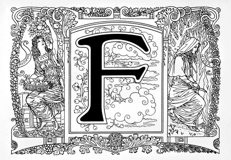 Eugene Grasset print 1917 samuel page french salon