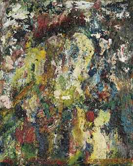 Eugene Leroy-Portrait-