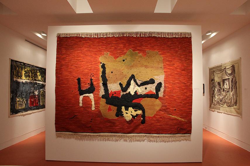 Eugenio Carmi - Il Gatto tapestry