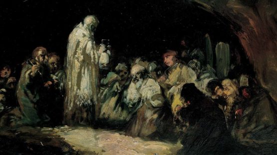 Eugenio Lucas Velazquez – The Communion – Image via wikipedia