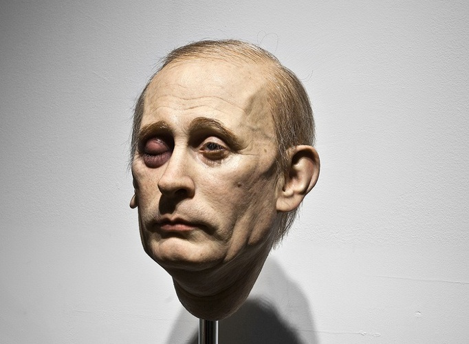 Eugenio Merino - Punching Putin, 2014