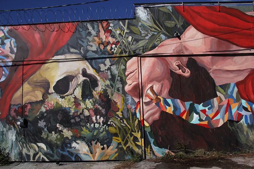 Ever - LA LLEGADA Collaboration with SMITHEONE, Wynwood, Miami, 2014