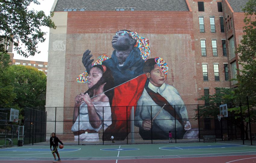 Ever The Second Conquest, East Harlem, New York City, 2015 culture past 2011