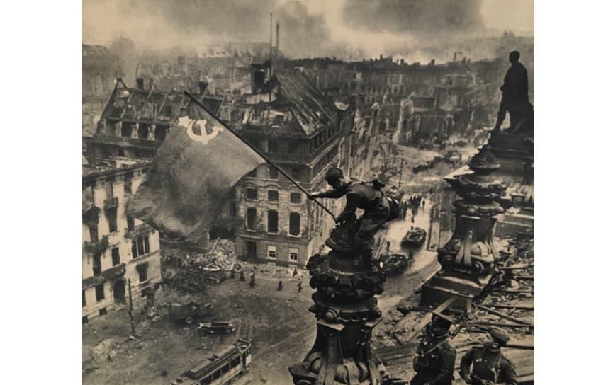 Evgeniy Khaldey - Banner of Victory, Berlin, May, 1945