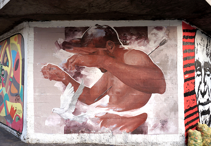 Mural in Lima
