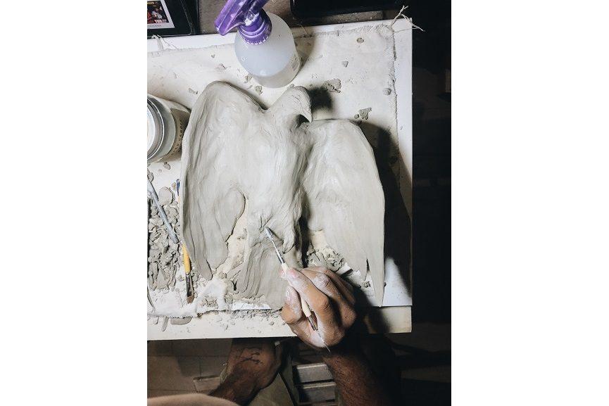 Evoca1_-Mercy-_work in progress - Galleria Varsi_1