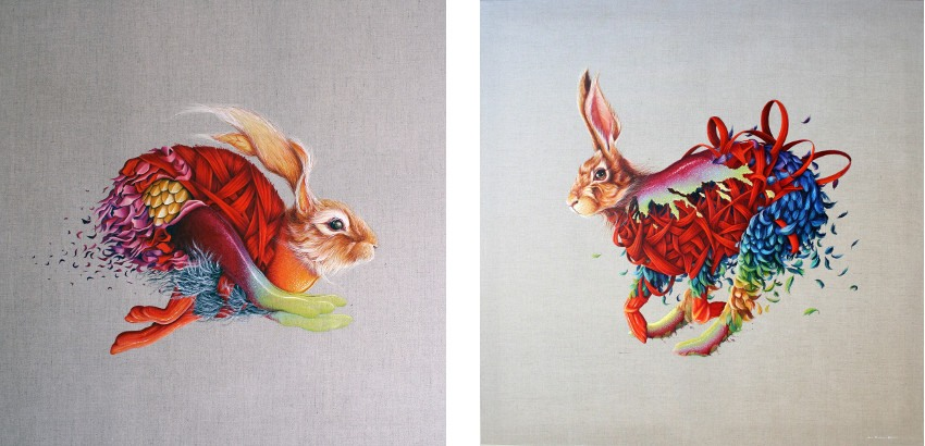 work - Untitled #1, The Still Life Series, 2015 (Left) / Untitled #2, The Still Life Series, 2015 (Right)