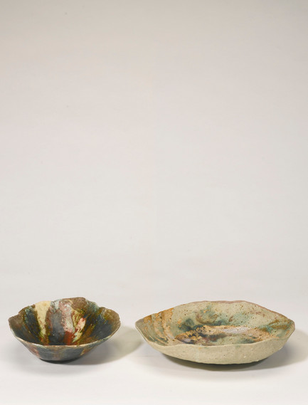 Ewen Henderson-Two Oyster Dishes-