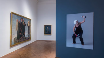 Exhibition view Aging Pride Photo- Johannes Stoll, © Belvedere, Vienna