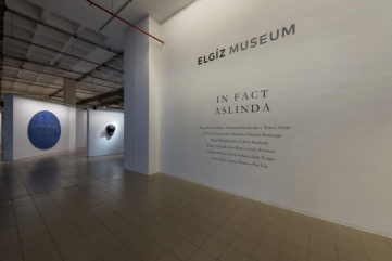 Exhibition view, In Fact, The Elgiz Museum Istanbul, 2017-18