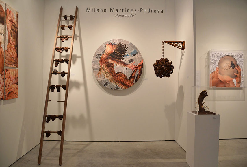 Exhibition view of Handmade by Milena Martinez-Pedrosa of Martinez-Pedrosa Studio