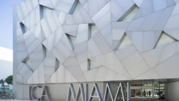 Exterior of the Institute of Contemporary Art, Miami. Photo by Iwan Baan