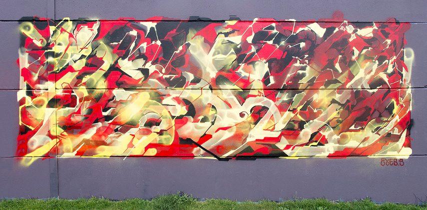 Eyes-B - A Mural in Brussels