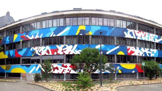 Eyes B - Fresque Hotel de ville de Namur