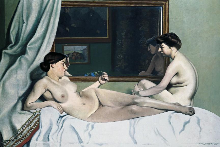 Félix Vallotton - Le repos des modèles, 1905