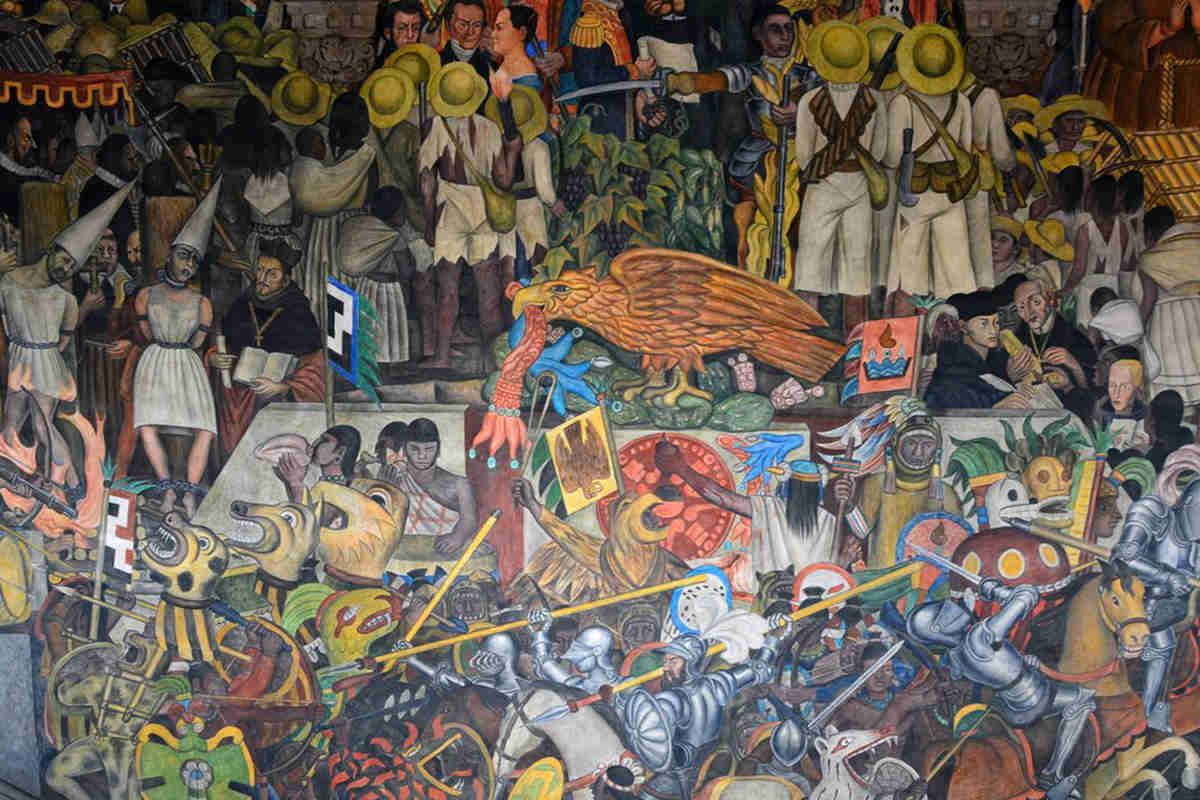 The most famous diego rivera murals inspire comradery and for Mural history