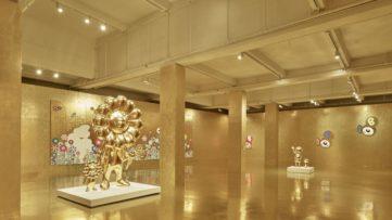 F Hall Studio © Takashi Murakami