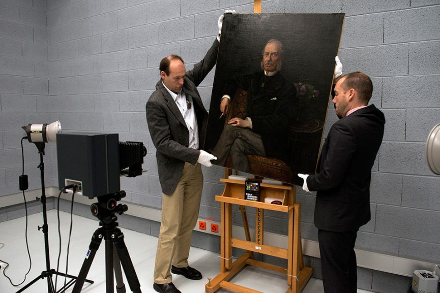 Examination of the Artwork