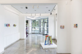 FARBRAUSCH, exhibition view at Stern-Wywiol Gallery. Courtesy gallery and artists