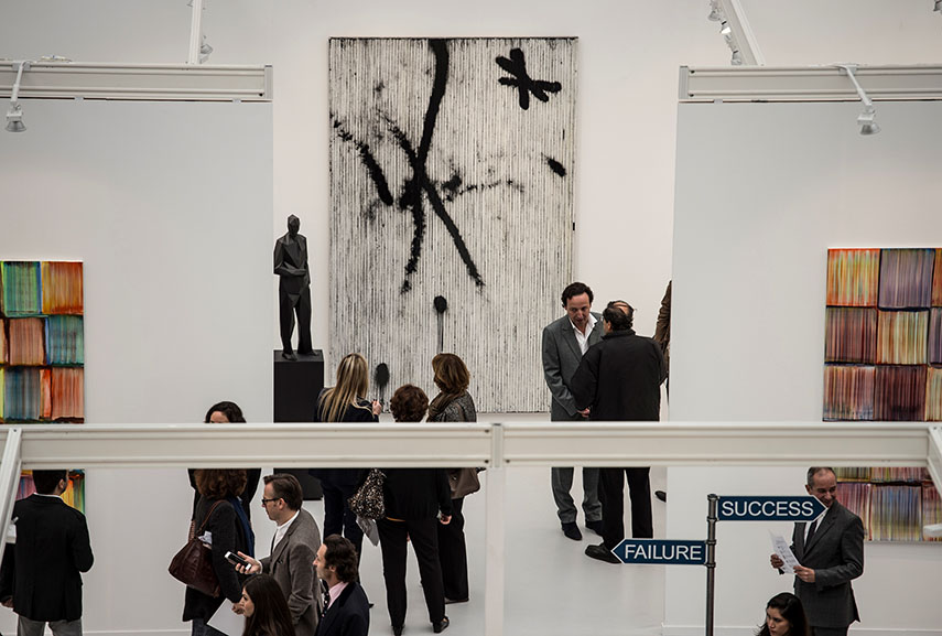 FIAC Paris. Photo by Marc Domage gallery