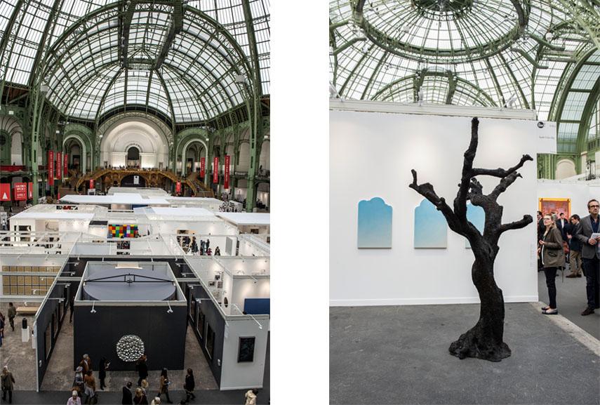 FIAC Paris. Photo by Marc Domage gallery cité design mode