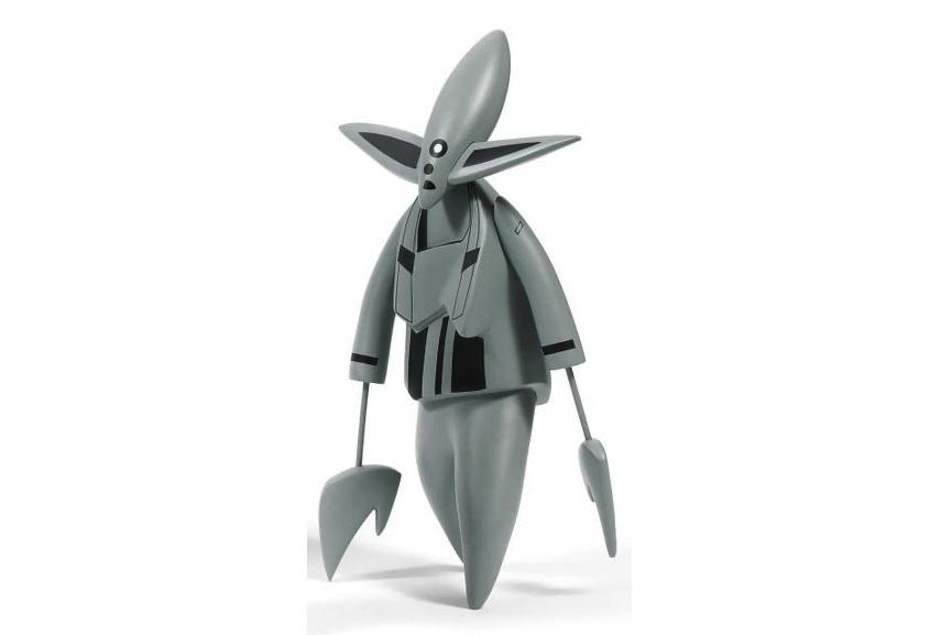 FUTURA - Nosferatu, 2005, a figure from the series of vinyltoys