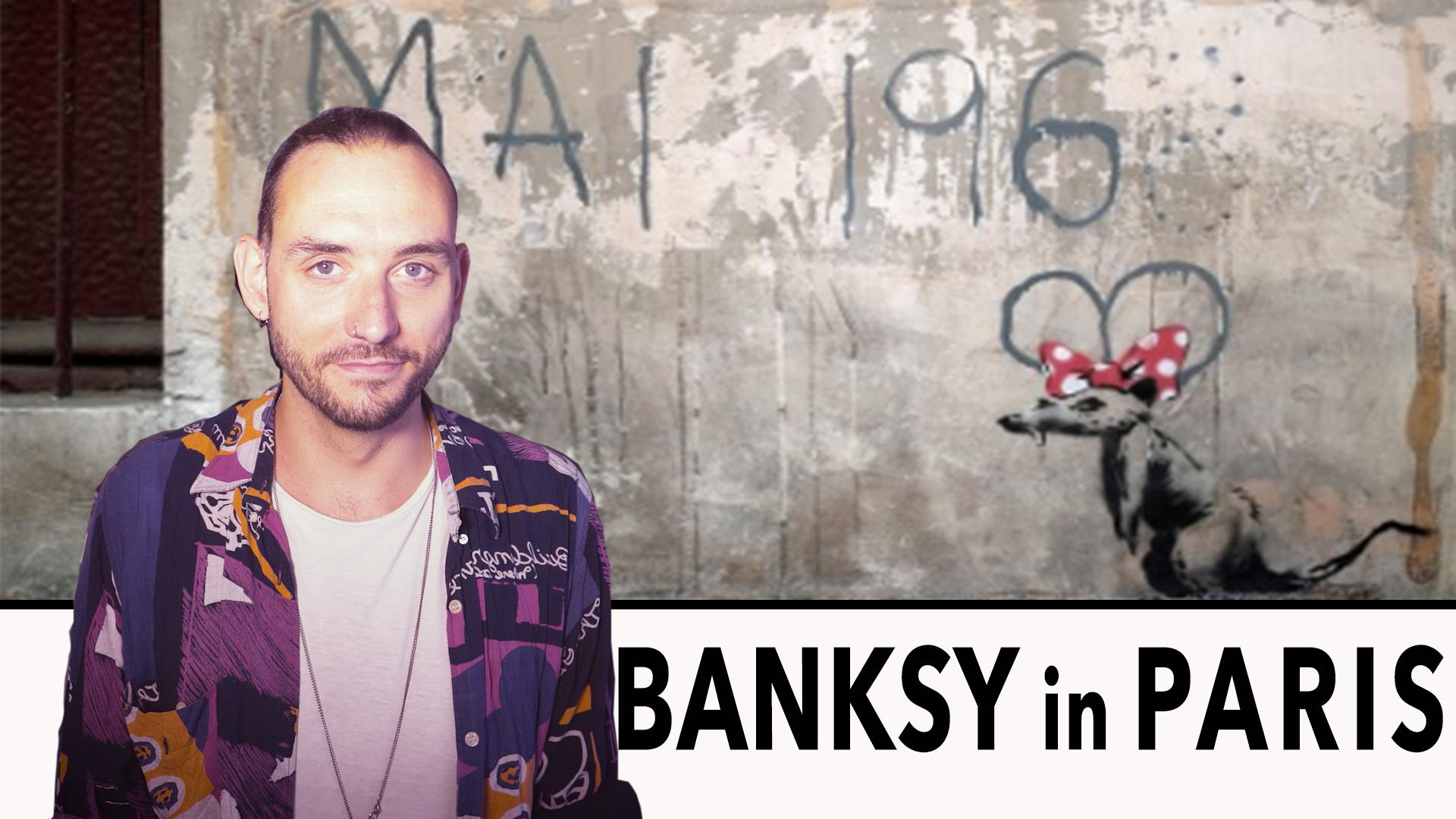 Fifth Wall Tv Banksy in Paris