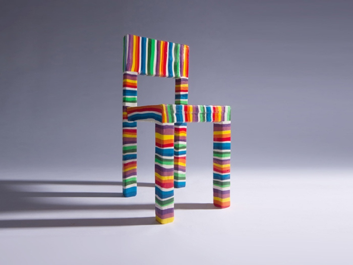 contemporary art, design, conceptual, Fabian Gatermann - Pieter Brenner and the sugarchair project, 2011, contact 2015 room