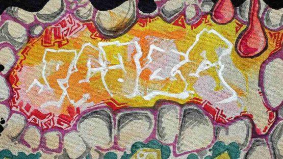 Fabyo - Peace (detail), Drawing
