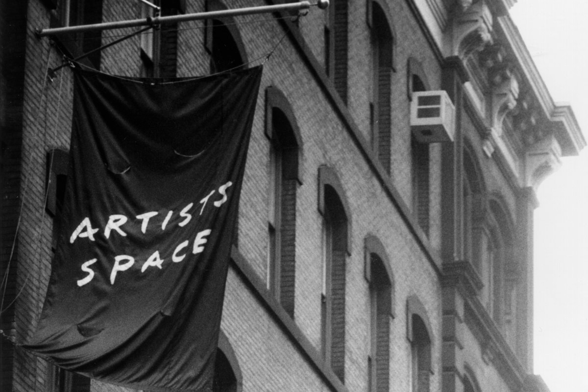 Facade of Artists Space in mid-1990s
