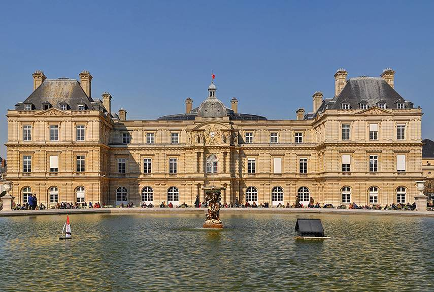 French architecture and particularly the architecture of city of Paris has been a home for new ways of thinking and for some of the most interesting buildings, such as Palais du Luxembourg