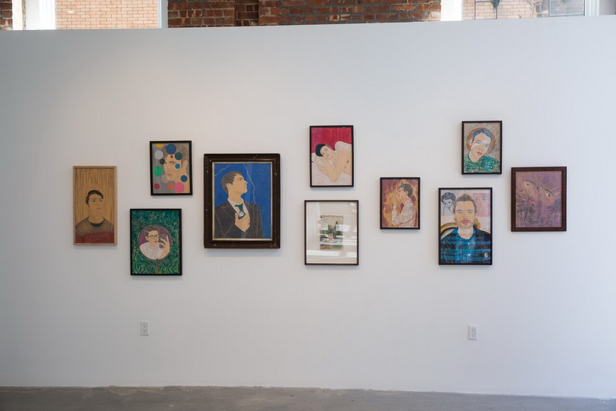 Faction Art Projects - Installation view. Drawings of Andrew Mania