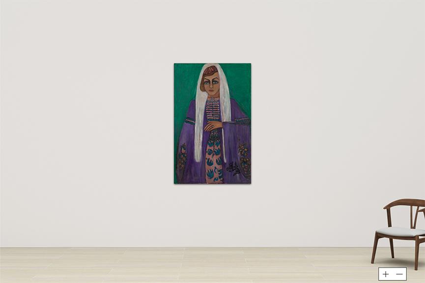 Fahrelnissa Zeid - Janset Berkok Shami, 1980-1990