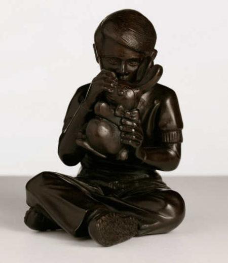 Faile-Bunny Boy Bronze-2007