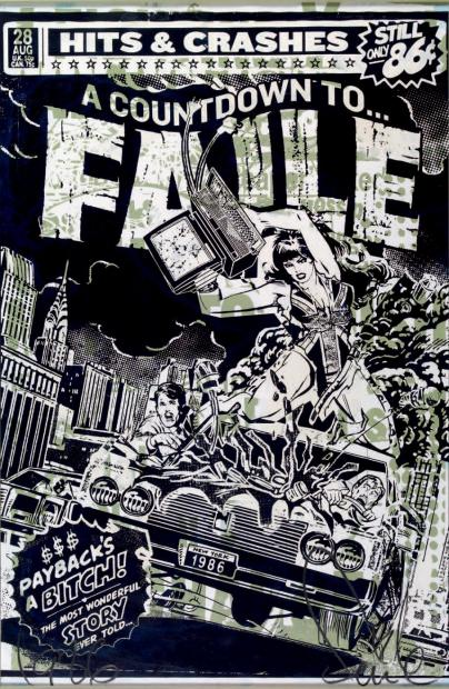 Faile-Hits and Crashes-2008