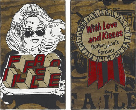 Faile-NY Box, Faile Girl, With Love and Kisses-2007
