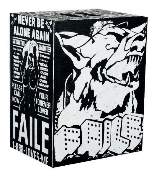 Faile - NYC 100, 2008 (50.9 x 40.5 x 30.5 cm)