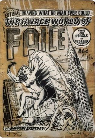 Faile-Savage World London Stencil-2007