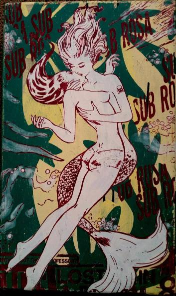 Faile - Sub Rosa, 2014 (52 x 31 cm)