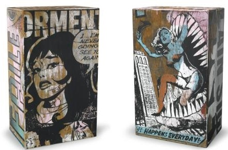 Faile-Wooden Box No. 37, Wooden Box No.29-2007